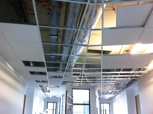 Ossature de plafond suspendu - EHPAD de Ploërmel