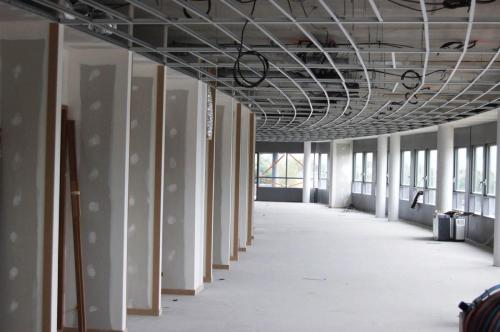 Ossature de plafond suspendu - URSSAF de Vannes